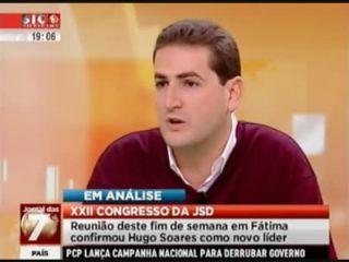 Hugo Soares na SIC Notícias