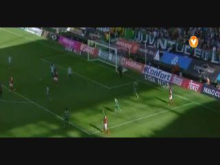 Sporting CP 4-1 Sporting Braga - Golo de F. Pardo (13min)