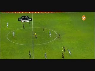 Sporting CP 2-2 Tondela - Golo de Salva Chamorro (85min)