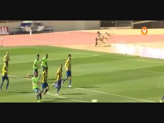 União Madeira 2-2 Vitória Setúbal - Golo de Salim Cissé (54min)