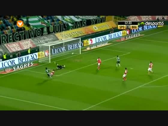 15J :: Sporting - 2 x Braga - 1 de 2010/2011