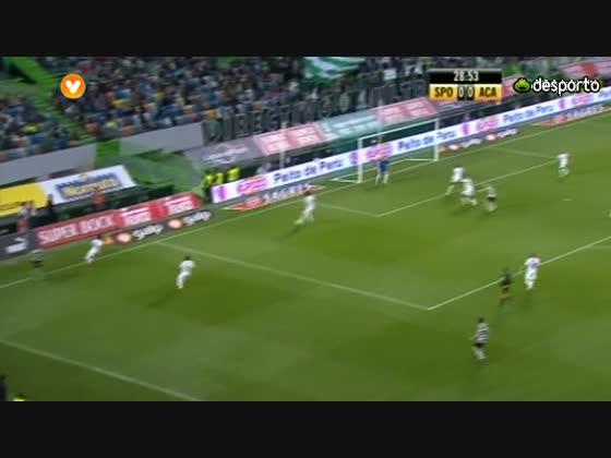 28j :: Sporting - 2 x Académica - 1 de 2011/2012