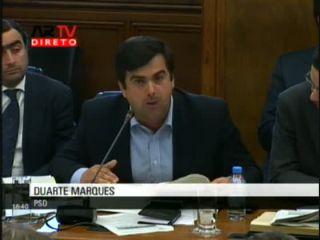 Duarte Marques questiona Ministro Nuno Crato sobre a Parque Escolar
