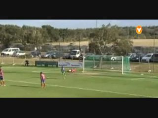 Sporting CP II 1-1 Chaves - Golo de D. Rubio (82min)