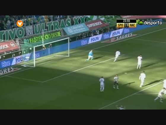 27J :: Sporting - 2 x Nacional da Madeira - 1 de 2012/2013
