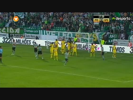 28J :: Paços de Farreira - 1 x Sporting - 0 de 2012/2013