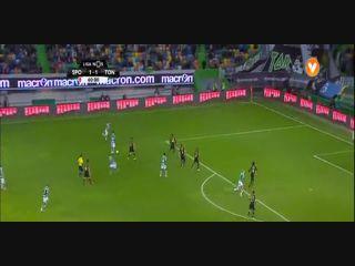Sporting CP 2-2 Tondela - Golo de Gelson Martins (61min)