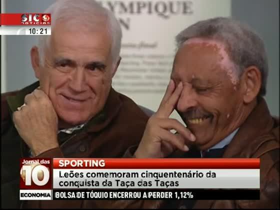 Sporting assinala 50 anos da conquista da Taça das Taças - SIC Notícias