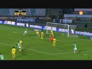 Vitória Setúbal 1-2 Sporting CP - Golo de Hyun-Jun Suk (47min)