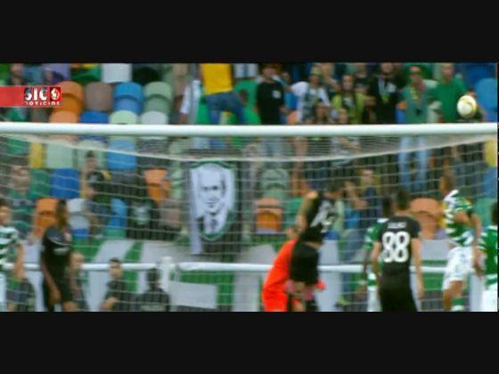 Sporting - 5 x Skenderbeu - 1 de 2015/2016 Liga Europa