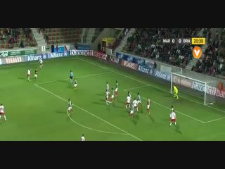 Resumo: Marítimo 0-1 Sporting Braga (11 January 2017)