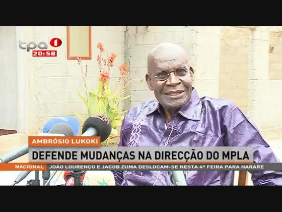 Ambrósio Lukoki defende mudanças na direcção do MPLA