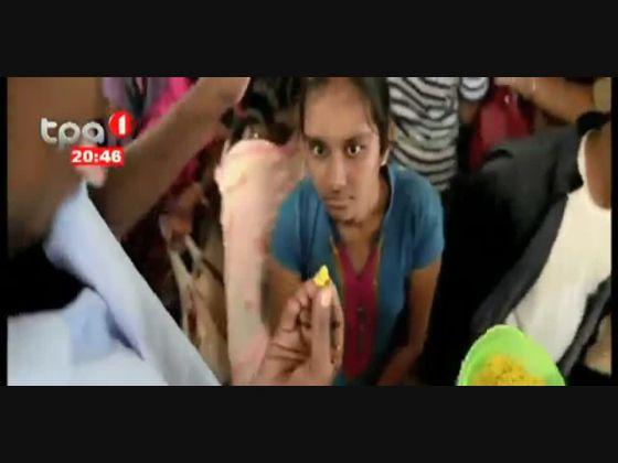 """India """"Milhares de pessoas engolem peixes vivos para a cura de Asma"""""""