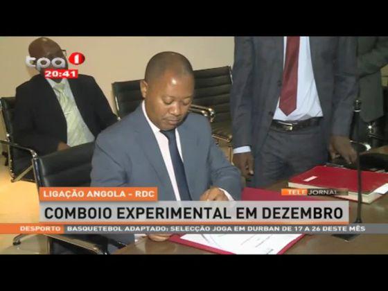 Comboio experimental Angola-RDC