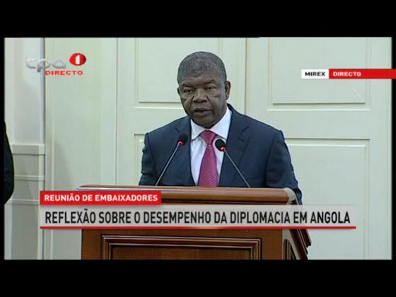 Actuais desafios da Diplomacia Angolana – PR João Lourenço