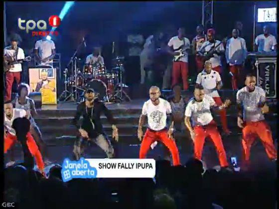 "Show Fally Ipupa ""Reportado pelo programa Janela Aberta"""