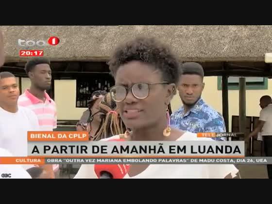 Bienal da CPLP a partir de amanhã em Luanda