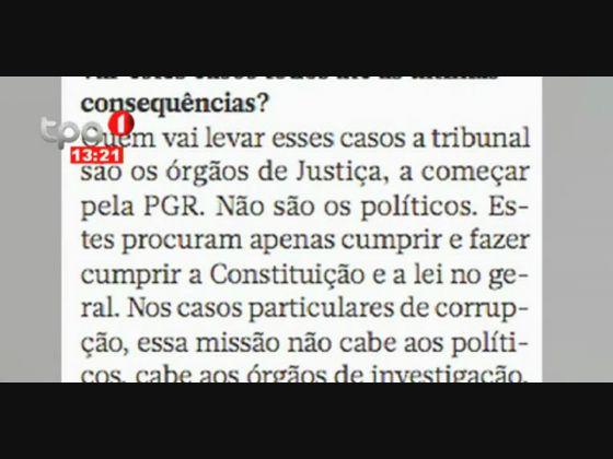 João Lourenço - Ainda não há ninguém a repatriar capitais vountariamente para Angola